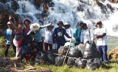 Cachoeiras em Brasília passam por mutirão de limpeza neste fim de semana