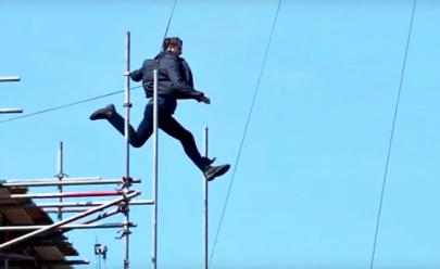 Vídeo: Tom Cruise se acidenta e quebra ossos durante gravações de Missão Impossível