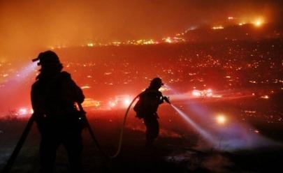 Incêndio sem controle obriga Trump a declarar estado de emergência na Califórnia