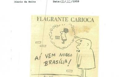 Brasília recebe exposição gratuita de caricaturas sobre a capital