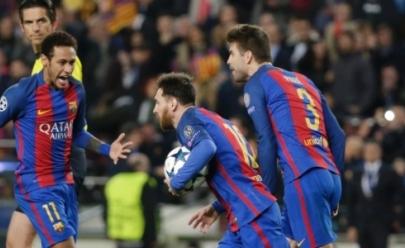 Barcelona faz 6 gols e elimina o PSG de forma histórica na Liga
