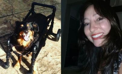 Goiana sofre golpe e reverte história criando mais de 2.000 cadeiras para animais deficientes