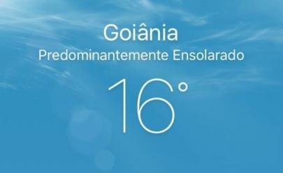 Friozinho voltou em Goiânia e deve continuar no fim de semana