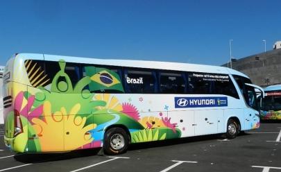 Goiano é autor da frase que irá estampar o ônibus do Brasil na Copa do Mundo