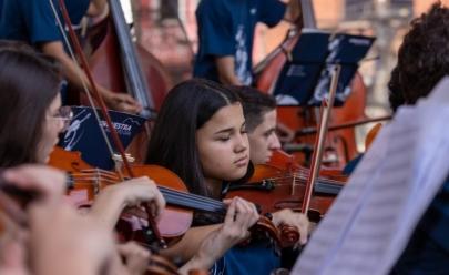 Orquestra formada por jovens entre 12 e 21 anos faz concerto gratuito em Brasília
