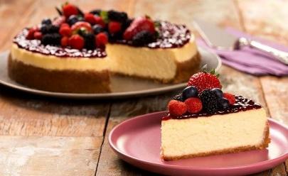 6 receitas de cheesecake para adoçar a vida