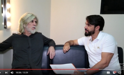 Oswaldo Montenegro revela intimidades em entrevista exclusiva para TV Curta Mais: 'sou uma pessoa generosa, bondosa e rabugenta'