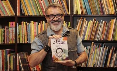 Humorista Juquinha lança biografia 'A vida é uma esquina' em Goiânia