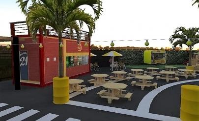 'Sabores Food Park' inaugura espaço fixo de food trucks em Goiânia