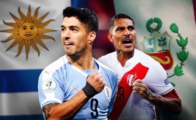 Sem transmissão na tv aberta e internet, veja onde assistir Uruguai x Peru em Goiânia