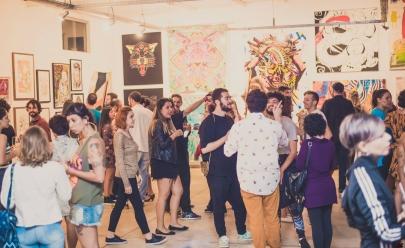 Endereços improváveis que dedicam um espaço para exposições de arte em Goiânia