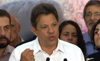 'Não tenham medo, nós estaremos aqui', afirma Haddad em discurso após derrota