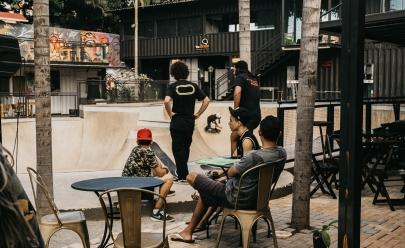 Evento em Brasília anima o público com skate, música, gastronomia e arte