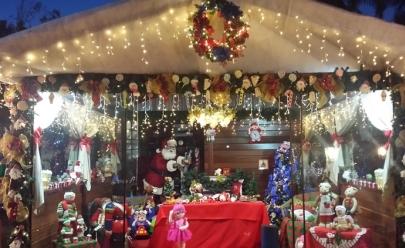 Pontão do Lago Sul ganha decoração de Natal com mais de meio milhão de lâmpadas de LED