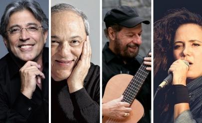 Ivan Lins, Toquinho, João Bosco e Tiê fazem show em Brasília