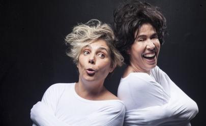 Heloísa Périssé e Maria Clara Gueiros retornam a Goiânia com a peça 'Loloucas'