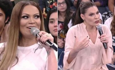 Cantora Solange Almeida surpreende com pergunta íntima à sexóloga Laura Muller