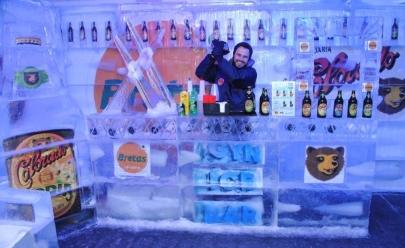 Goiânia ganha Bar de Gelo com temperaturas de até 10° negativos