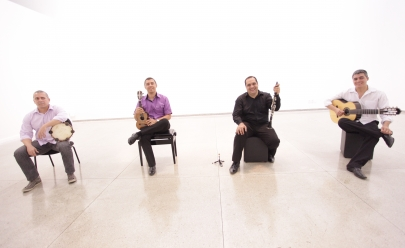 Quarteto Pixinga lança seu primeiro disco com Clássicos do Choro, em Goiânia