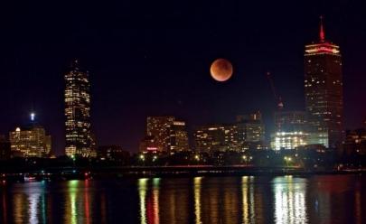 Confira a tabela de horários para o eclipse da Lua de Sangue em todo o país