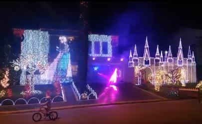 Esta é a decoração de fim de ano mais incrível que você verá em Goiânia