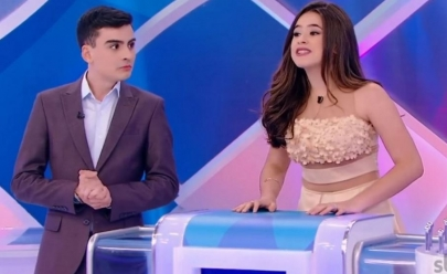 Vídeo: Maisa comenta 'climão' com Dudu Camargo após participação no programa Silvio Santos no SBT