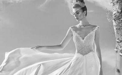Bazar de luxo em Goiânia oferece mais de 600 vestidos de noivas e festas com até 90% de desconto
