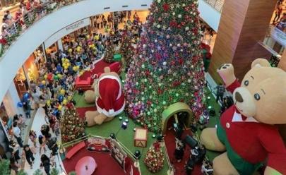 Confira a decoração de Natal dos Shoppings de Goiânia
