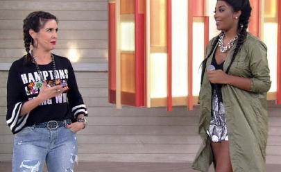 Fátima Bernardes dança funk de Ludmilla em seu programa: 'A danada sou eu'; veja o vídeo
