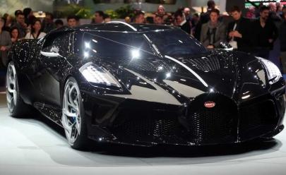 La Voiture Noire da Bugatti é o carro mais caro da história