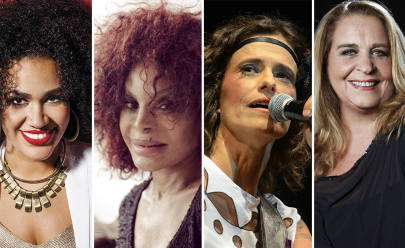 Elza Soares, Zélia Duncan, Wanda Sá e Mariene de Castro se unem para show em Brasília