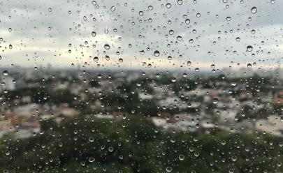 Chuva melhora clima em Goiânia e fim de semana deve ter mínima de 12 graus