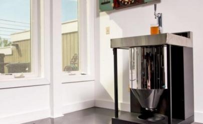 Dona da Brastemp aposta em máquina caseira de fazer cerveja
