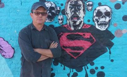 Vila Cultural Cora Coralina recebe exposição de arte urbana do artista Edney Antunes