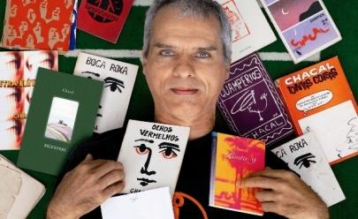Lenda da poesia marginal, Chacal, oferece oficina gratuita de escrita criativa em Goiânia