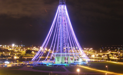 Evento gratuito marcará transformação da Torre de TV em árvore de Natal gigante em Brasília