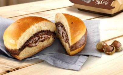 Alerta gordice: McDonald's lança sanduíche de Nutella