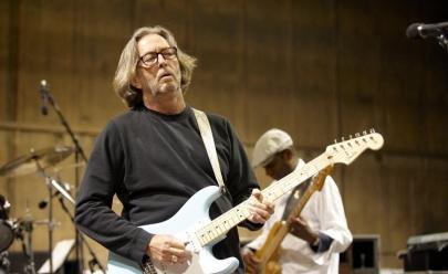 Eric Clapton está doente e tem dificuldade para tocar guitarra
