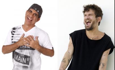 Durval Lelys e Saulo fazem show no Parque da Cidade, em Brasília