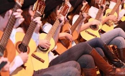 Violeiros querem entrar para o Guiness Book com a maior orquestra de violas do mundo em Uberlândia