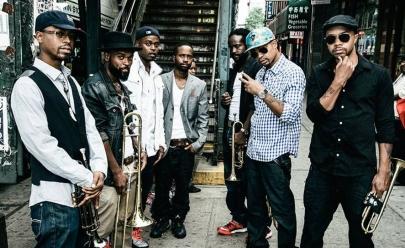 Banda de jazz Hypnotic Brass Ensemble faz show em Brasília