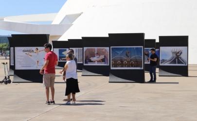 Exposição destaca monumentos de Brasília por meio da dança