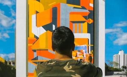 Artista pintará super painel de 500 metros quadrados em Goiânia