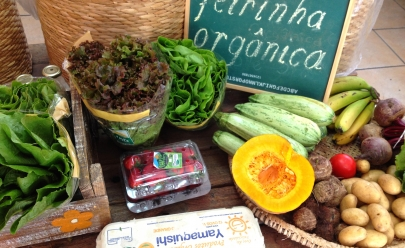 Feira de orgânicos é opção saudável com entrada gratuita no fim de semana no Goiânia Shopping
