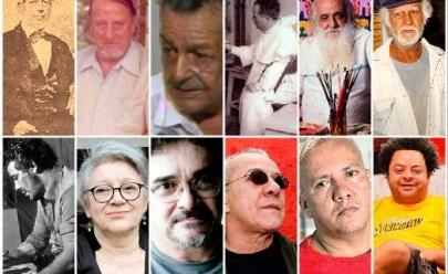 Os 12 maiores artistas plásticos de todos os tempos em Goiás