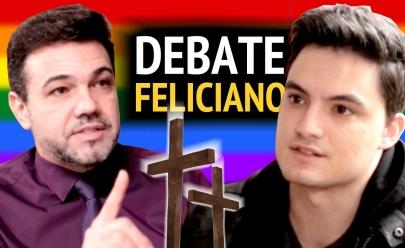 Felipe Neto e Marco Feliciano debatem sobre homossexualidade e vídeo gera polêmica