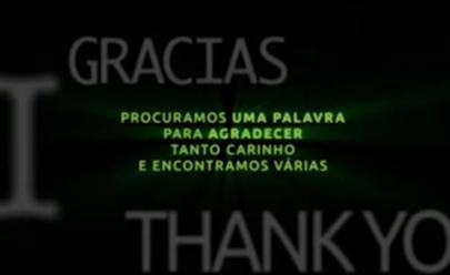 Chapecoense publica vídeo de gratidão no Facebook