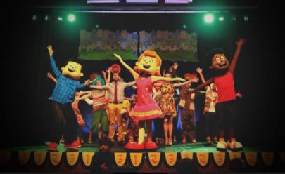 Fenômeno cristão no YouTube, espetáculo '3 Palavrinhas' é apresentado aos pequenos em Goiânia