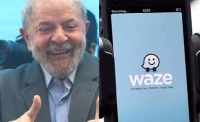 Voz de Lula aparece no Waze dizendo 'vire à esquerda companheiro'