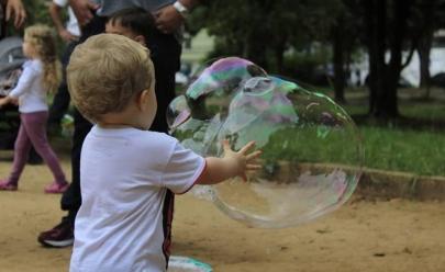 Festival de bolhas de sabão chega a Brasília com entrada gratuita